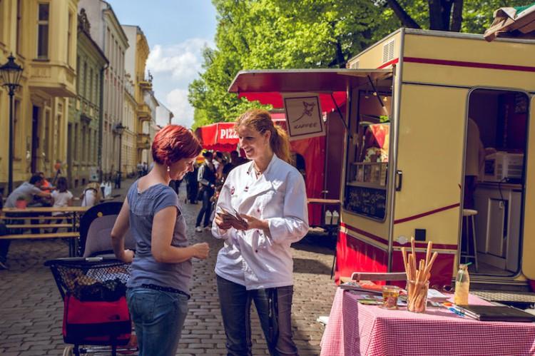 Steffi Metz Feinkost auf dem Markt am Nauener Tor