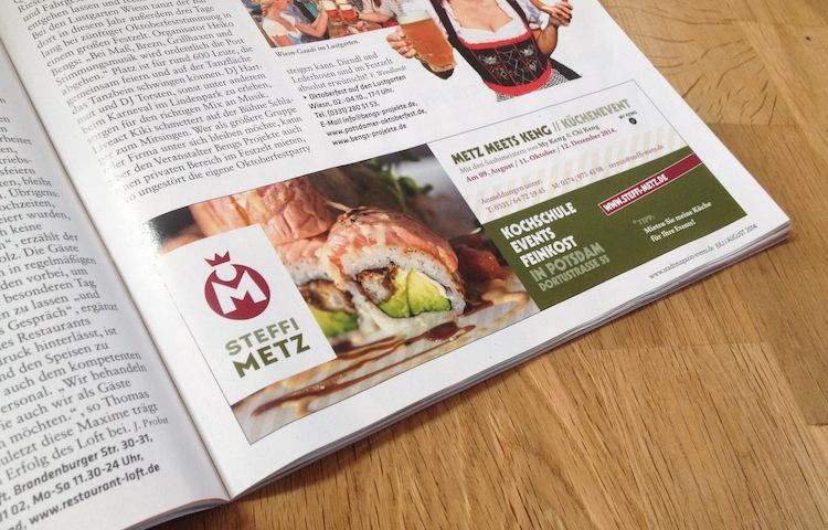 Steffi Metz | Anzeige EVENTS: Sushi