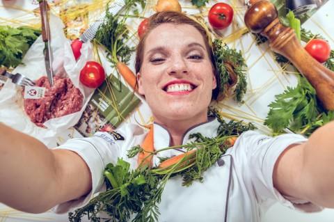 Steffi Metz Selfie - Gewinne ein Kochevent