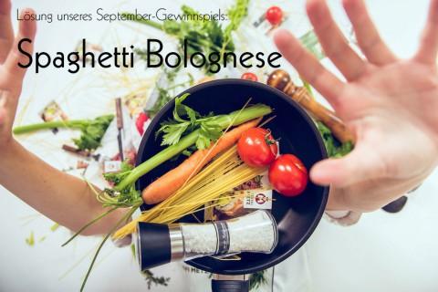 Spaghetti Bolognese Gewinnspiel Kochevent