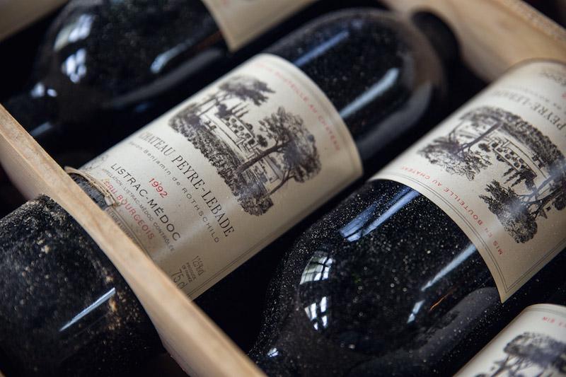 Wein Bordeaux - Chateau Peyre Lebade 1992