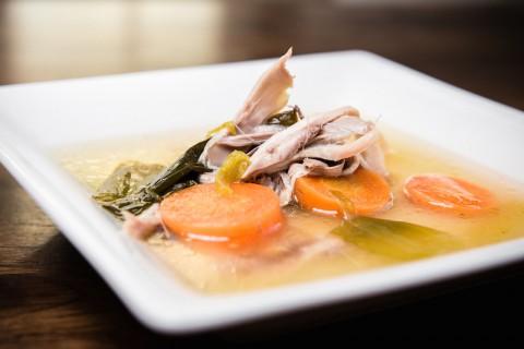 Rezept Hühnerbrühe Hühnersuppe