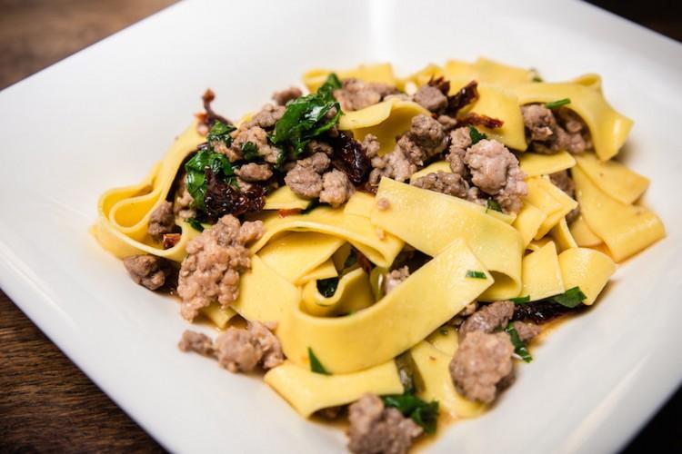 Rezept Pasta mit scharfem Hack Bolognese selbstgemacht selber machen Rezepte Kochschule Kochen Potsdam Berlin
